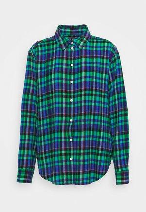 EVERYDAY - Košile - blue/green