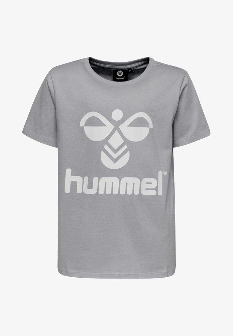 Hummel - HMLLTRES - T-shirt imprimé - grey melange