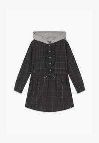 IKKS - HOOD - Košilové šaty - gris anthracite - 0