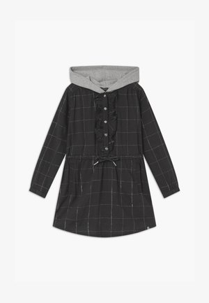 HOOD - Shirt dress - gris anthracite