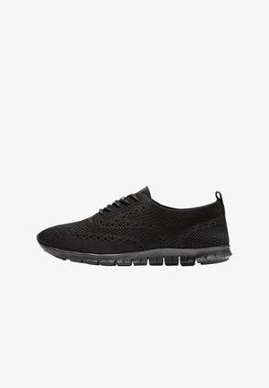 Casual lace-ups - black stitchlite black