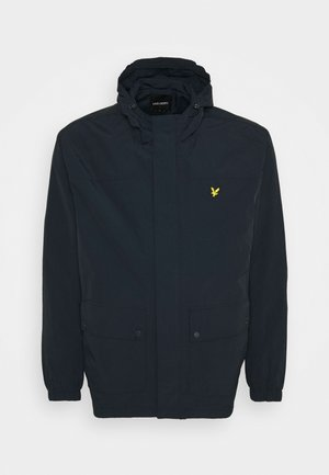HOODED POCKET JACKET - Chaqueta fina - dark navy