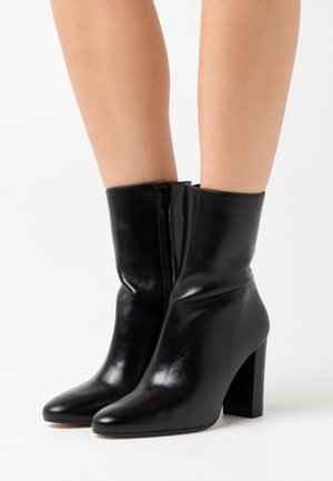 VALORIS - High heeled ankle boots - noir