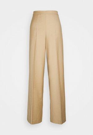 WIDE PULL ON - Pantalon classique - palomino