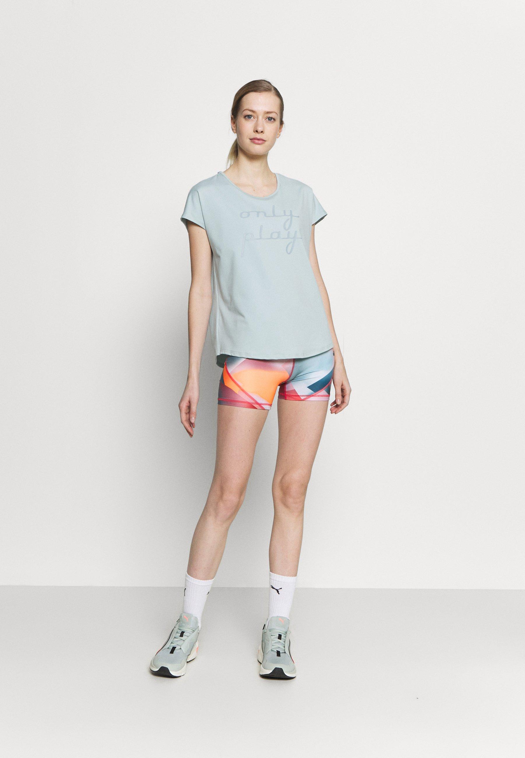 Women ONPFUDIE LOOSE TRAIN TEE - Print T-shirt