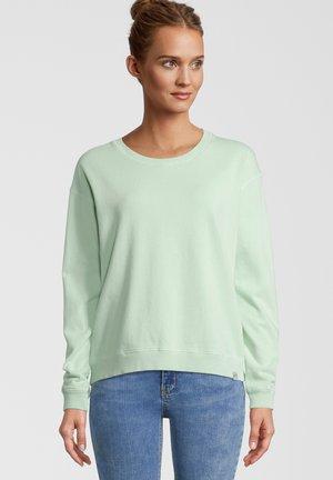 SALCOMBE WAASHED CREW NECK - Sweater - sage