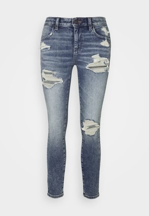 JEGGING - Džíny Slim Fit - misty sky