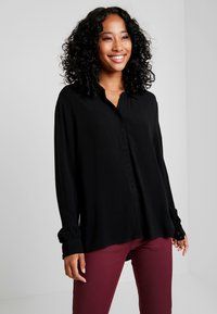 Object - Button-down blouse - black - 0