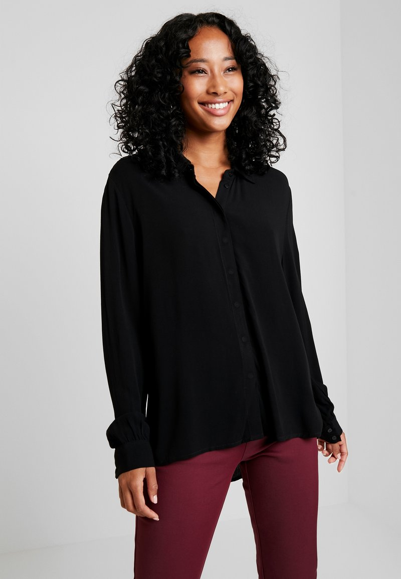 Object - Button-down blouse - black