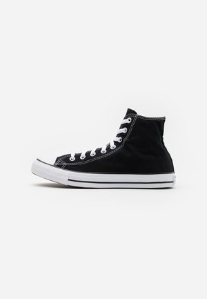 CHUCK TAYLOR ALL STAR WIDE - Korkeavartiset tennarit - black