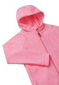 Reima - HAAVE - Zip-up sweatshirt - neon pink - 2