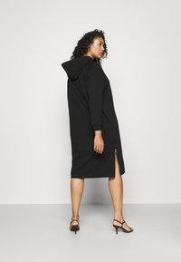 Noisy May Curve - NMHELENE DRESS - Denní šaty - black - 2