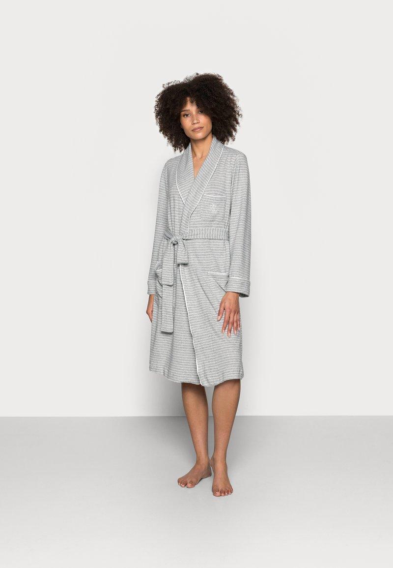 Lauren Ralph Lauren - ROBE - Dressing gown - grey