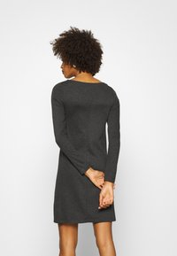 Anna Field - Jersey dress - dark grey melange - 2