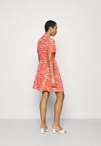 Calvin Klein - SHORT DRESS - Day dress - fiesta/ecru - 2