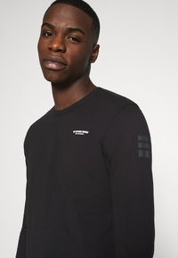 G-Star - BASE R T L\S - Long sleeved top - compact jersey o - dk black - 6