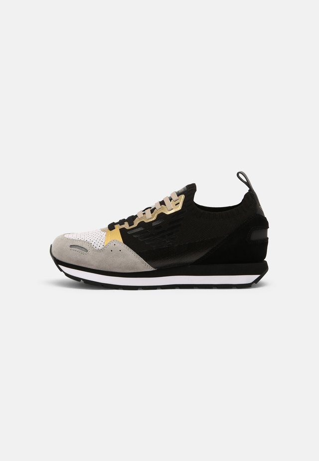 Sneakers laag - white/black/gold