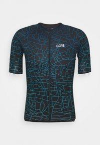 GOTHAM MENS - T-Shirt print - black/sphere blue
