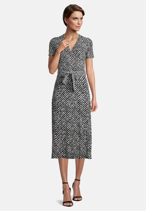 Day dress - schwarz/weiß