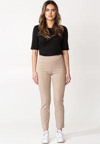 Indiska - Leggings - Trousers - beige - 1