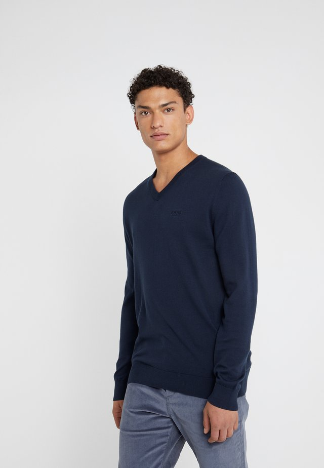 BARRY - Sweter - navy