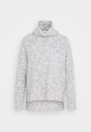 VMDAISY COWLNECK - Svetr - light grey melange