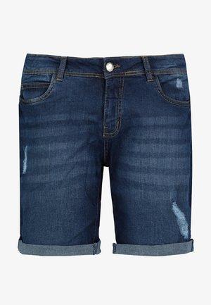 BERMUDA - Denim shorts - dark-blue