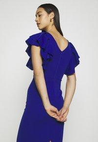 WAL G. - KENSLEY RUFFLE SLEEVE DRESS - Day dress - electric blue - 3