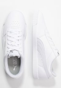 Puma - CARINA SLIM FIT - Trainers - white - 3