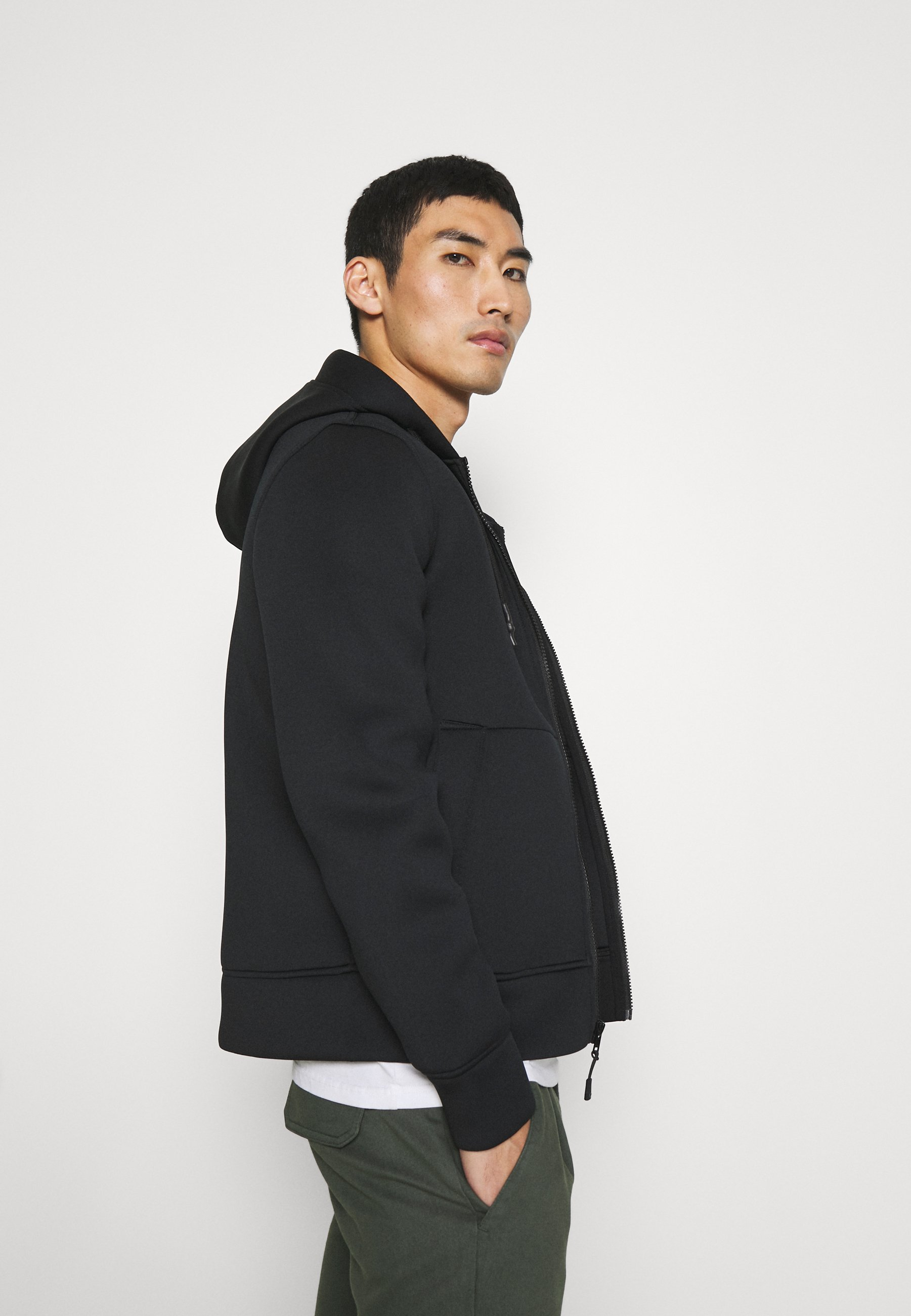 Men HOOD - Zip-up sweatshirt