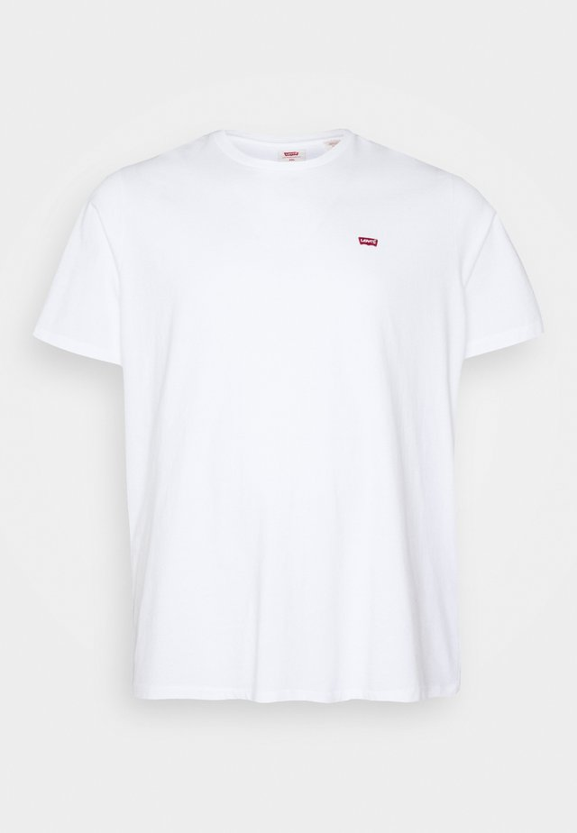 BIG ORIGINAL TEE - T-shirt basic - white