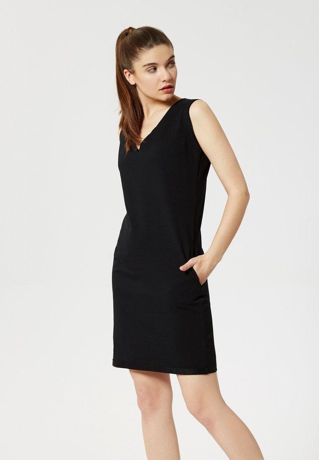 Vestido de tubo - noir