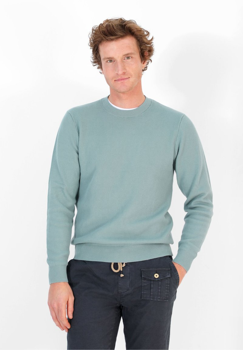 Scalpers - FOSTER TRICOT - Jumper - turquoise
