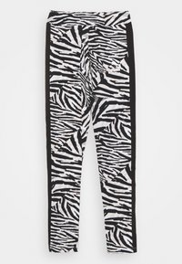Puma - CLASSICS SAFARI LEGGINGS - Leggings - white/black - 0