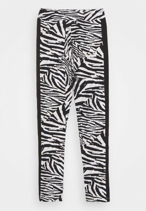 CLASSICS SAFARI LEGGINGS - Punčochy - white/black