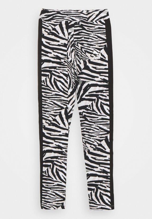 CLASSICS SAFARI LEGGINGS - Punčochy - white/black
