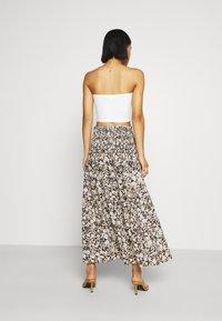 Bec & Bridge - FORBIDDEN FORREST SKIRT - Maxi skirt - black/pink - 2