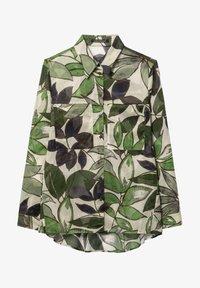 Luisa Cerano - MIT LEAF-PRINT - Button-down blouse - multi - 0