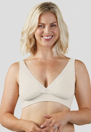 Triangle bra - antique white