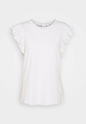 RUFFLE - T-shirt z nadrukiem - heather grey
