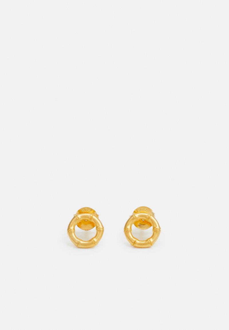 Julie Sandlau - BAMBOO EARSTUDS - Earrings - gold-coloured