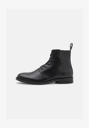 THOMAS LACE UP BOOT - Veterboots - black