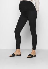 LOVE2WAIT - LEGGINGTRAVELLER - Leggings - Trousers - black - 0
