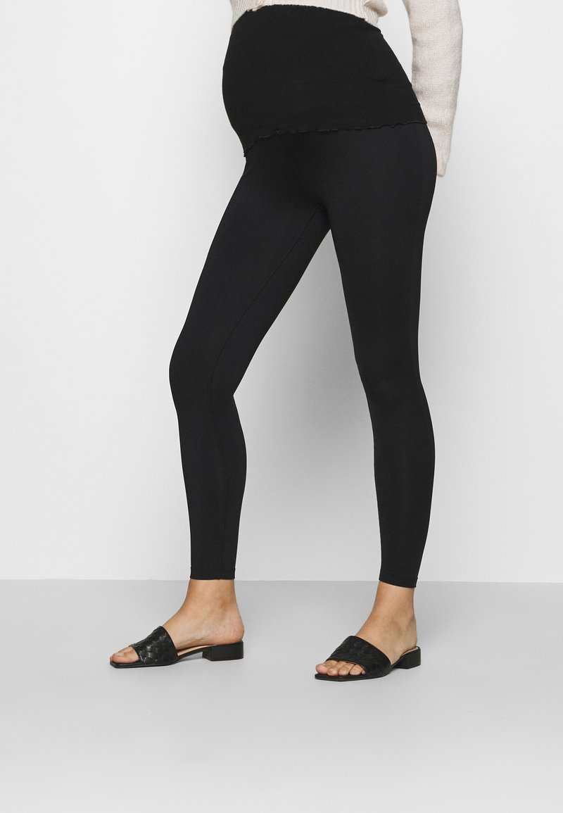 LOVE2WAIT - LEGGINGTRAVELLER - Leggings - Trousers - black