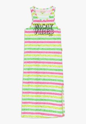 PILAINE - Žerzejové šaty - neon pink