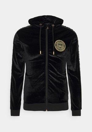 MATEO ZIP HOODIE - Zip-up hoodie - jet black