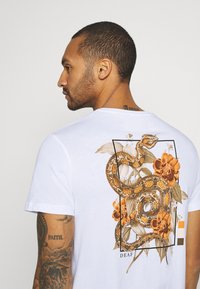 YOURTURN - Print T-shirt - white - 3