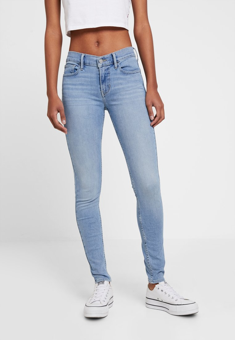 Levi's® - 710 INNOVATION SUPER SKINNY - Jeans Skinny Fit - globe trotter