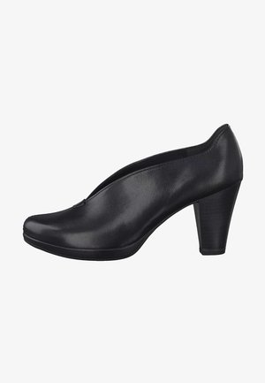 Classic heels - black antic 002