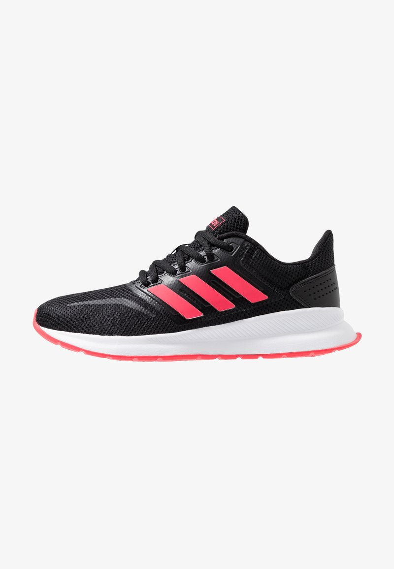 adidas Performance - RUNFALCON - Neutral running shoes - core black/shock red/footwear white